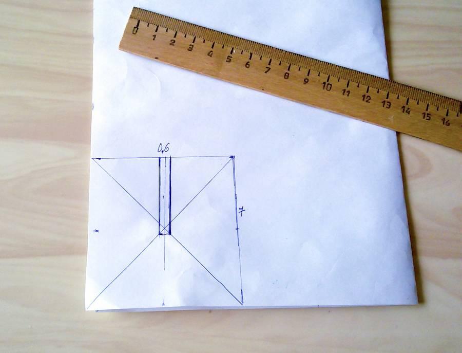 Изготовление резинок для волос с бантиками из глиттерного фоамирана шаг 1