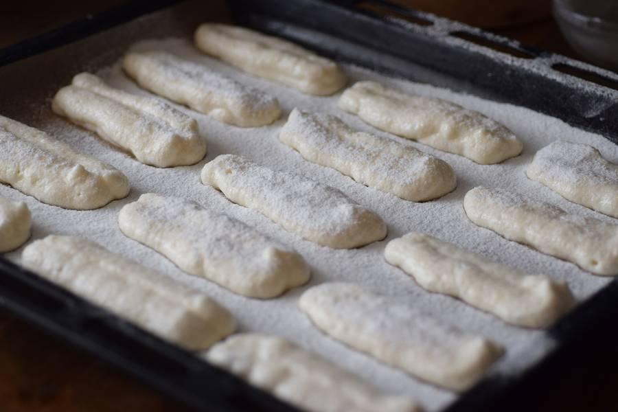 Приготовление бисквитного печенья савоярди шаг 7