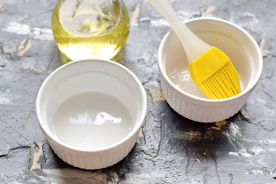 Приготовление клафути с малиной шаг 5
