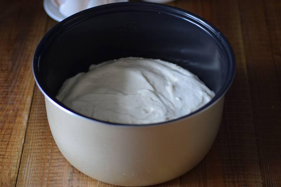 Приготовление классического бисквита в мультиварке шаг 9