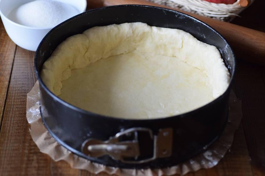 Приготовление цветаевского яблочного пирога шаг 6