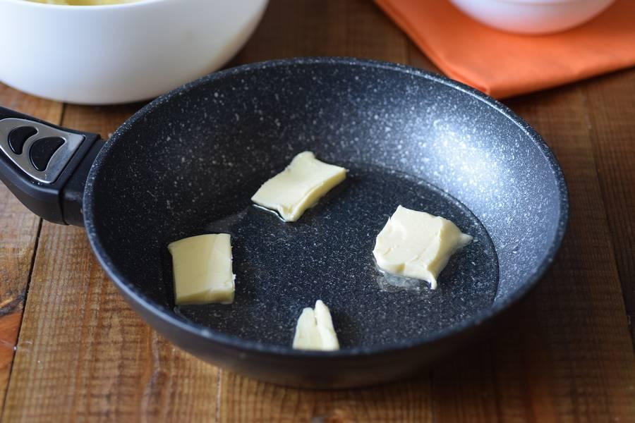 Приготовление решти из картофеля с грибным соусом шаг 9