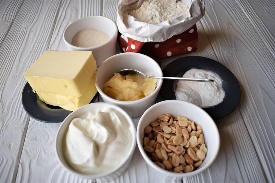 Ингредиенты орехово-медового печенья