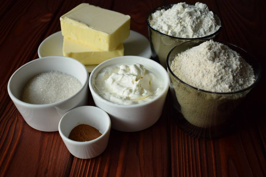 Ингредиенты овсяного печенья