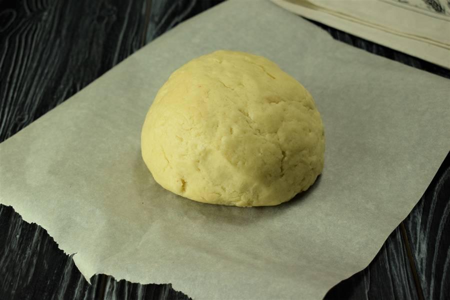 Приготовление клюквенного пирога шаг 3