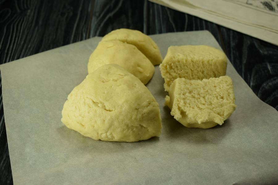 Приготовление клюквенного пирога шаг 5