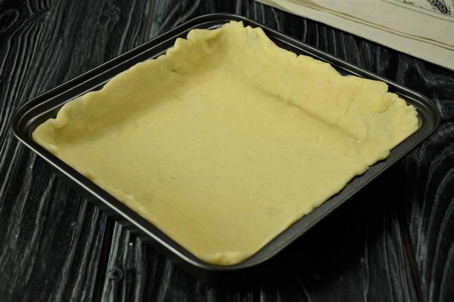Приготовление клюквенного пирога шаг 7