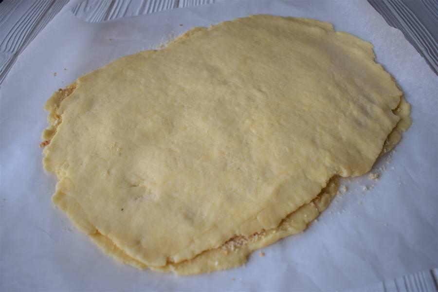Приготовление орехово-медового печенья шаг 4