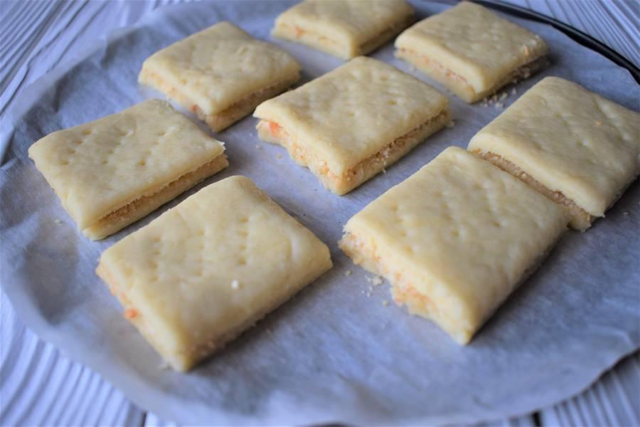 Приготовление орехово-медового печенья шаг 6