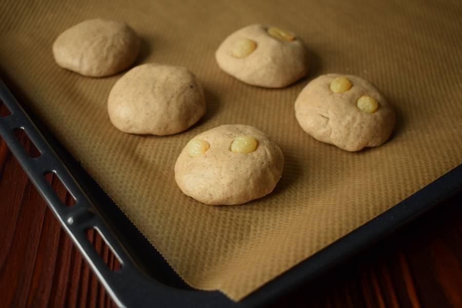 Приготовление овсяного печенья с изюмом шаг 4