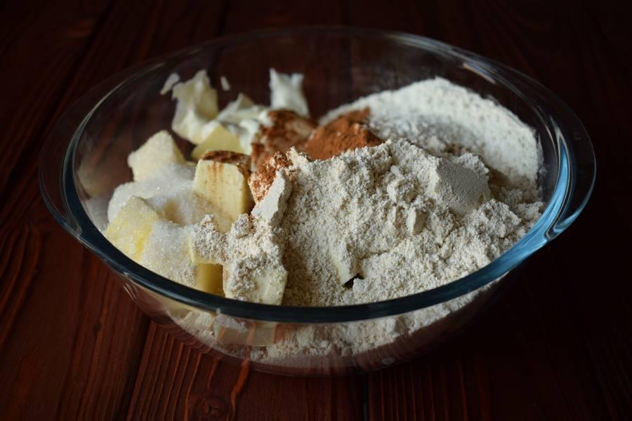 Приготовление овсяного печенья шаг 1