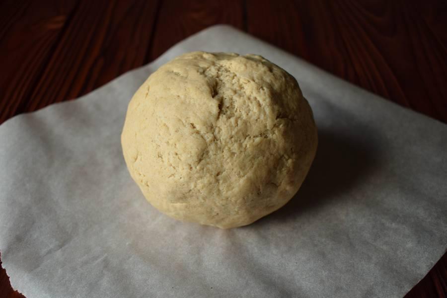 Приготовление овсяного печенья шаг 2