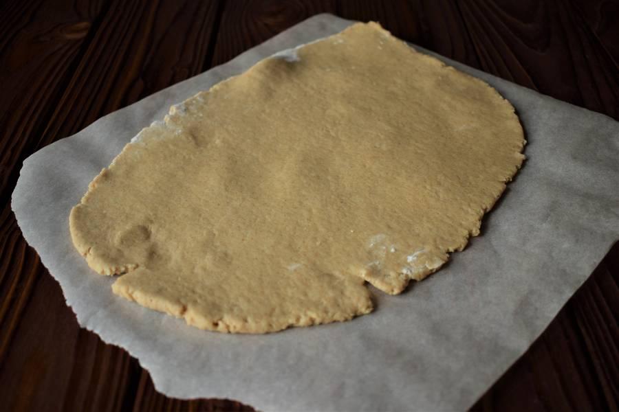 Приготовление овсяного печенья шаг 3