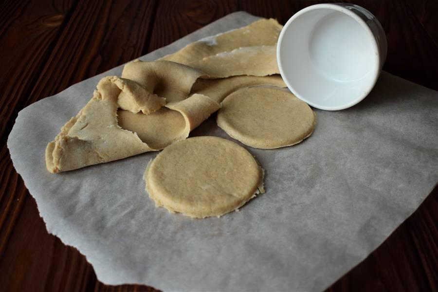 Приготовление овсяного печенья шаг 4