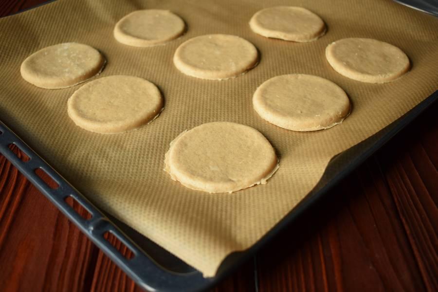 Приготовление овсяного печенья шаг 5