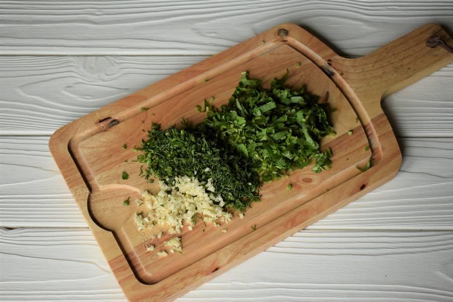 Приготовление пряных сырников шаг 1