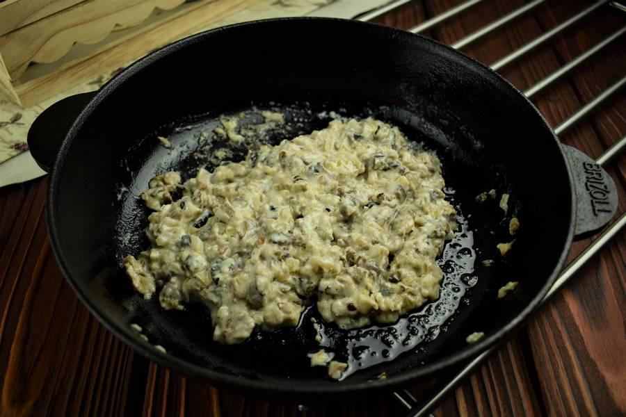Приготовление картофельных зраз с грибами шаг 5