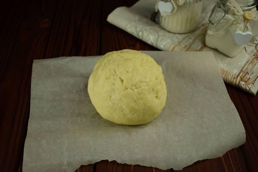 Приготовление сдобного печенья с тертой клюквой шаг 1