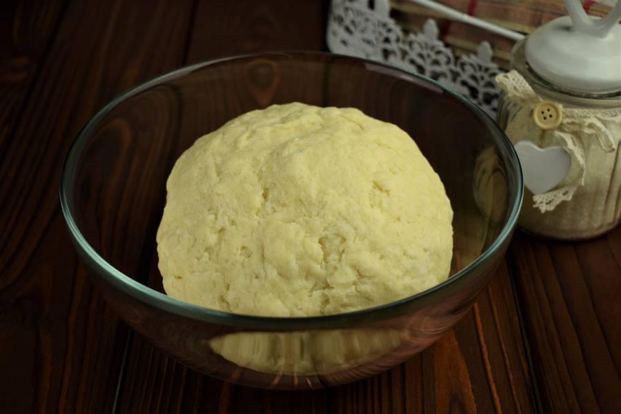 Приготовление творожного печенья шаг 3