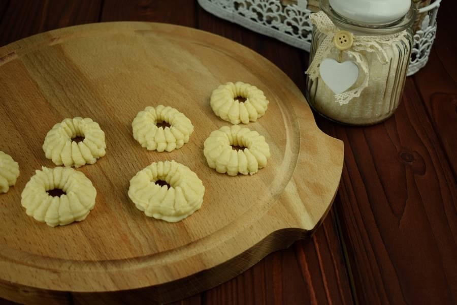 Приготовление творожного печенья шаг 4