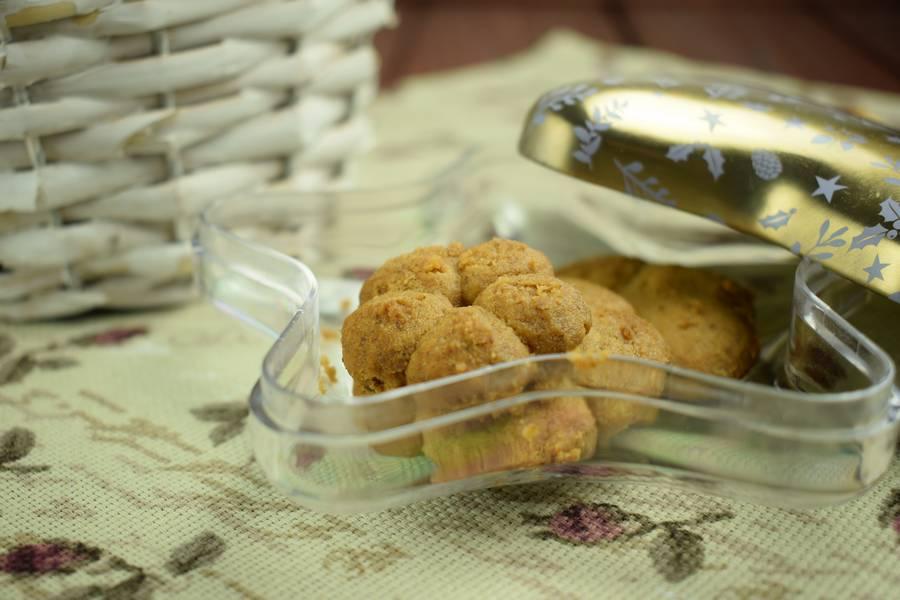 Песочное ореховое печенье