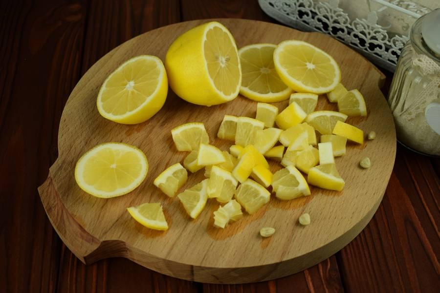 Приготовление лимонного печенья шаг 1