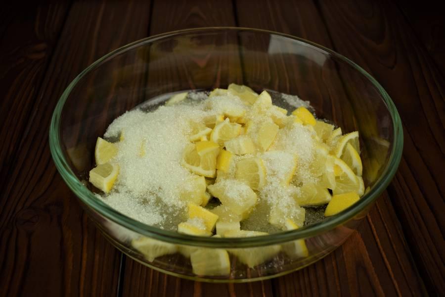 Приготовление лимонного печенья шаг 2