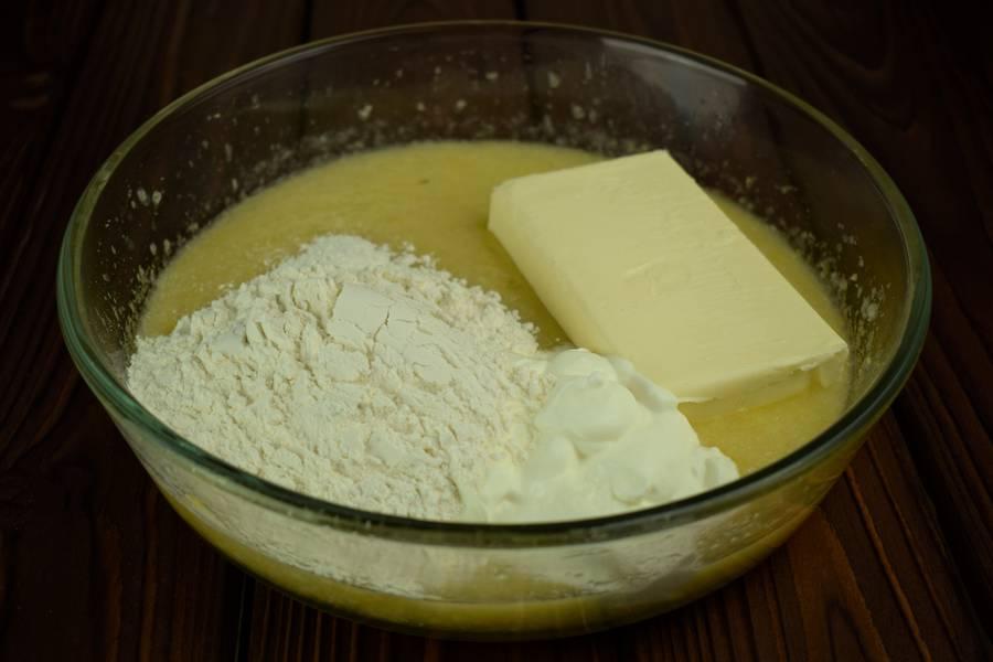 Приготовление лимонного печенья шаг 4