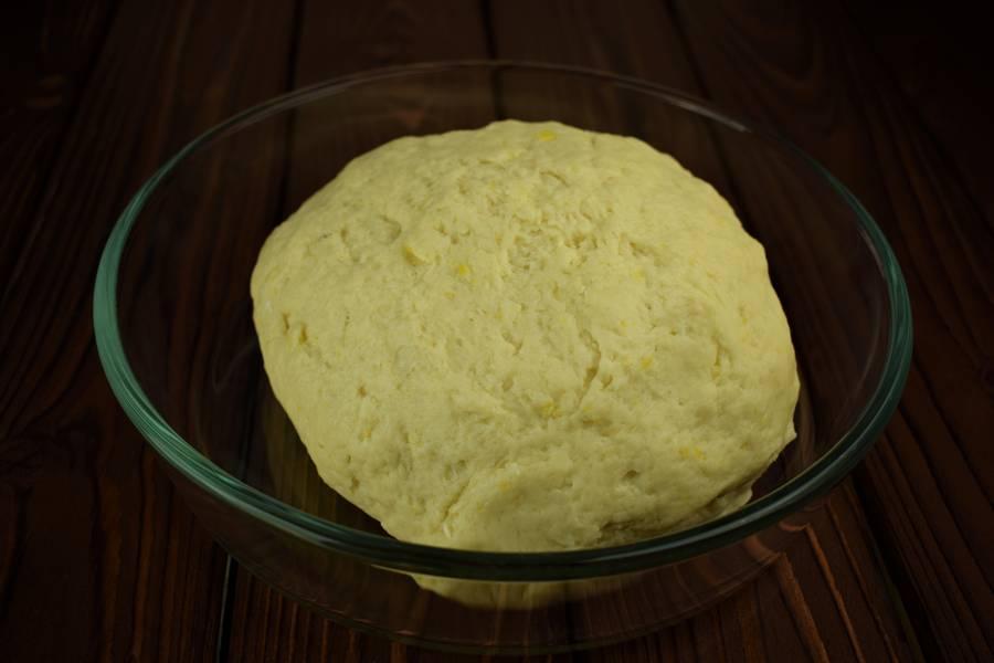Приготовление лимонного печенья шаг 5