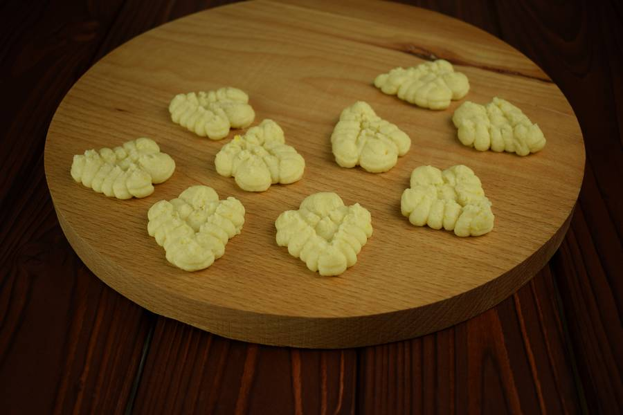 Приготовление лимонного печенья шаг 6