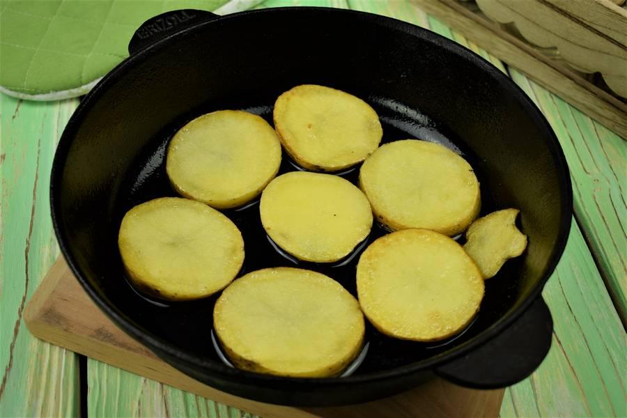 Приготовление жаркого из свинины с картофелем шаг 6