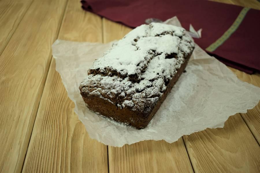 Приготовление шоколадного кекса с изюмом и корицей шаг 6