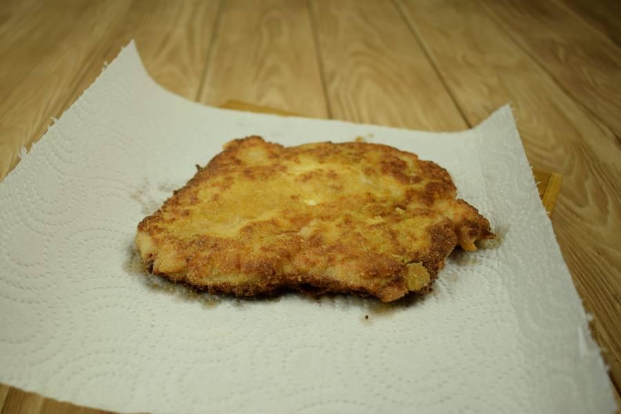 Приготовление жареной куриной грудки в горчичной панировке шаг 4