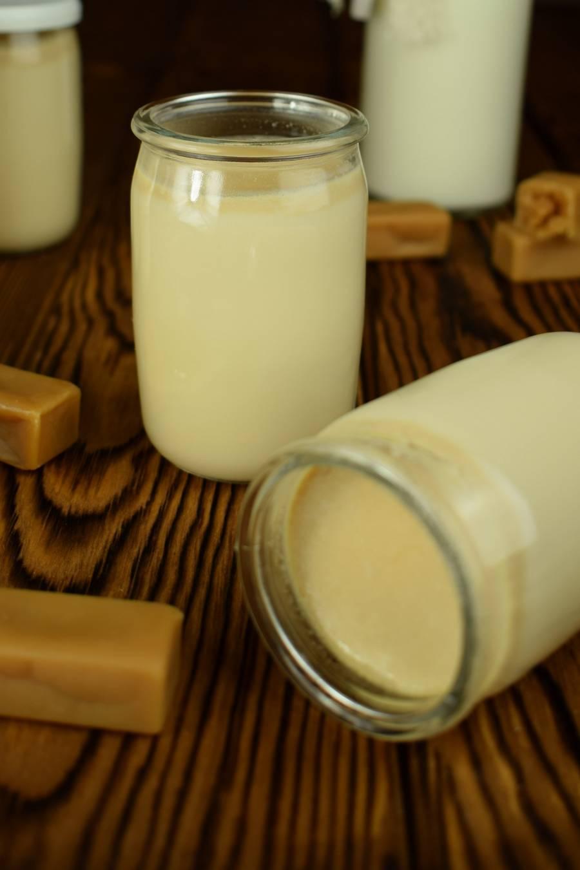 Домашний йогурт со вкусом конфет коровка