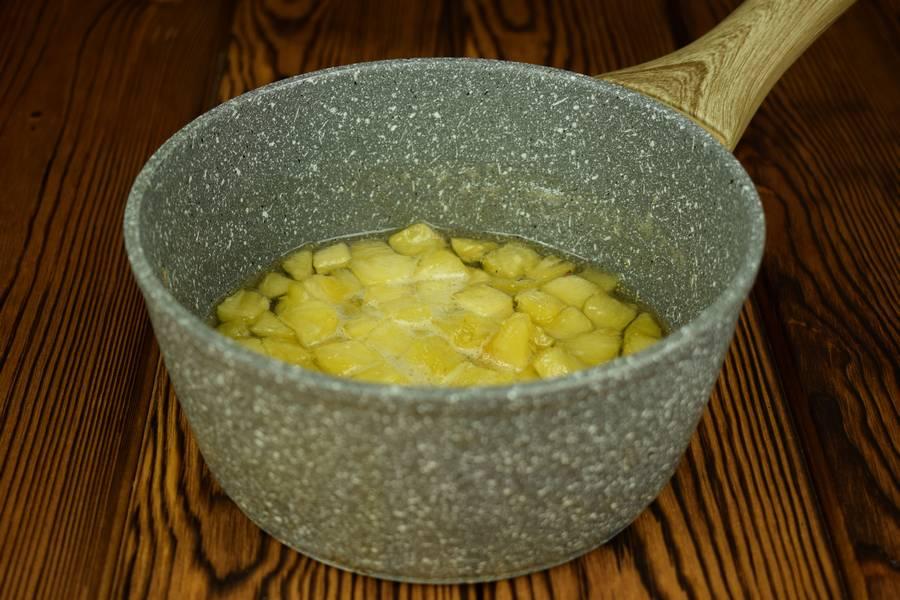 Приготовление домашнего йогурта с ананасом шаг 4