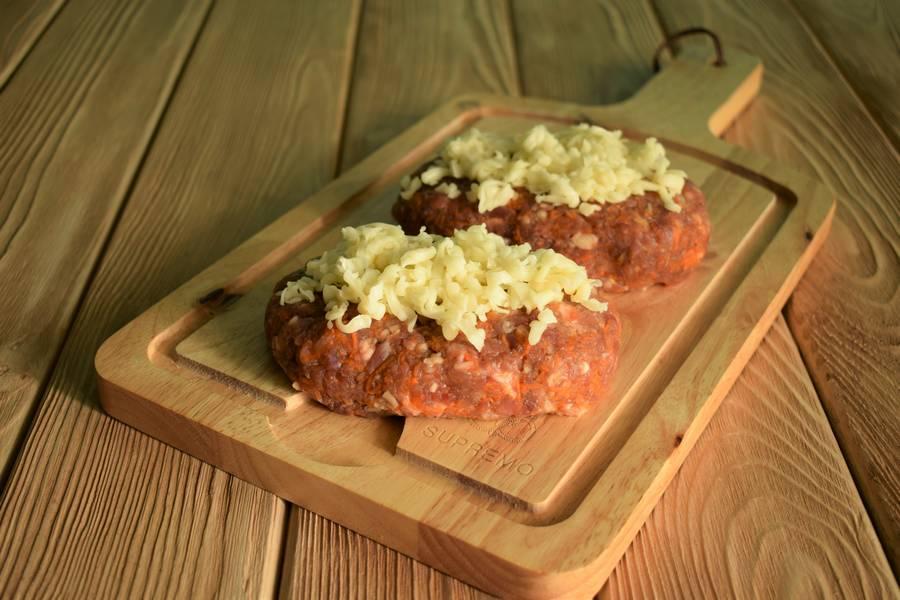 Приготовление рубленого бифштекса с морковью шаг 5