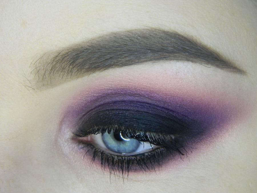Насыщенный фиолетовый смоки