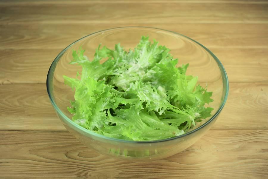 Приготовление салата с говядиной и грибами шаг 6