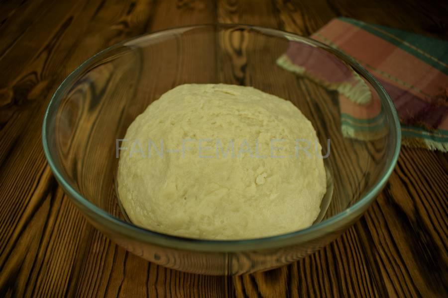 Приготовление мясного пирога с большим количеством начинки шаг 7