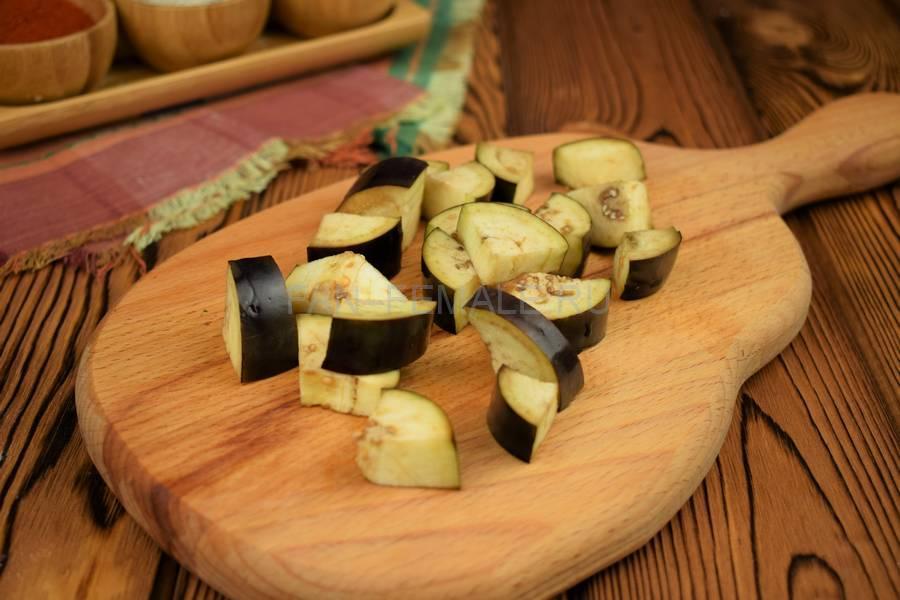 Приготовление овощного острого соуса шаг 3