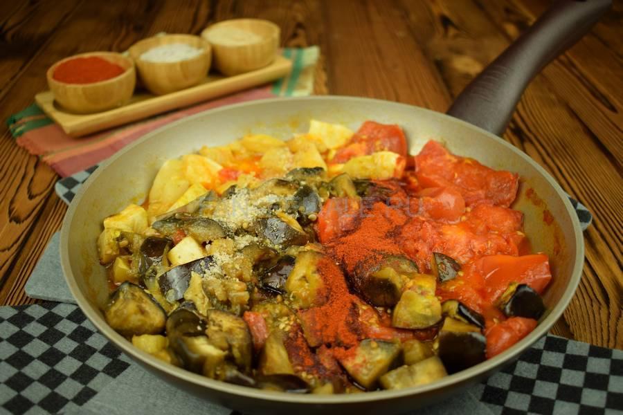Приготовление овощного острого соуса шаг 5