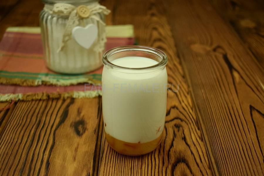 Приготовление домашнего йогурта с папайей шаг 6
