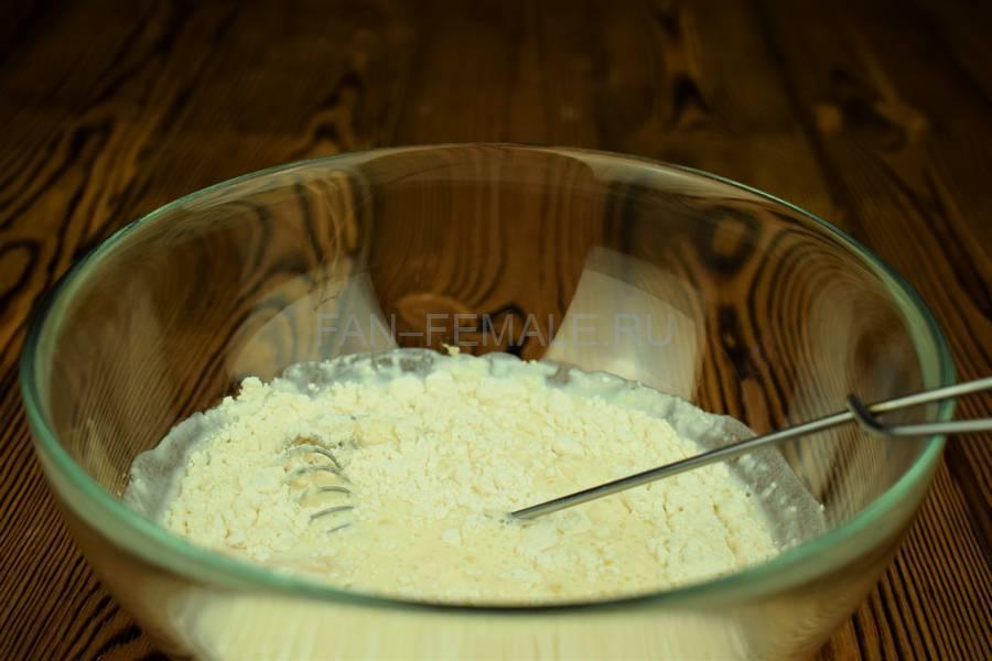 Приготовление мясной кулебяки шаг 1