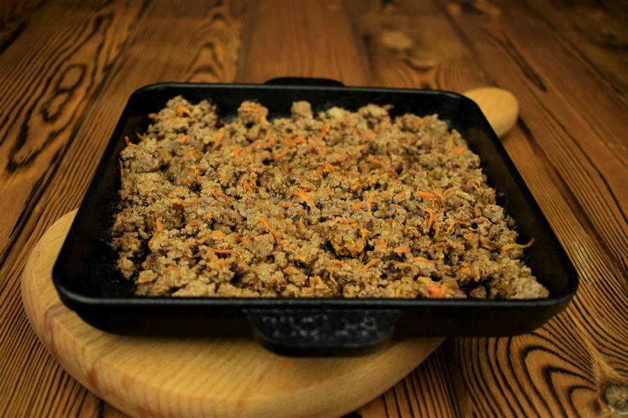 Приготовление мясной кулебяки шаг 10