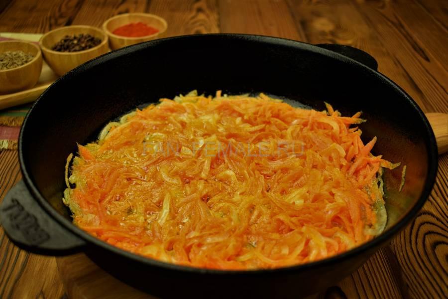Приготовление седла барашка с красным рисом шаг 5