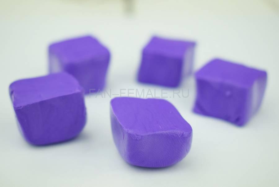 Изготовление морской звезды из полимерной глины шаг 1