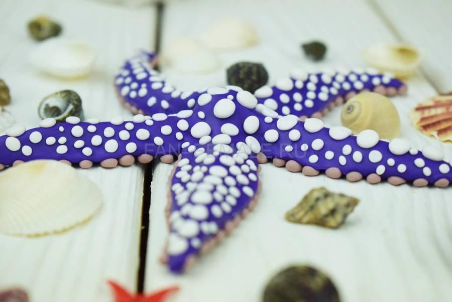 Морская звезда из полимерной глины