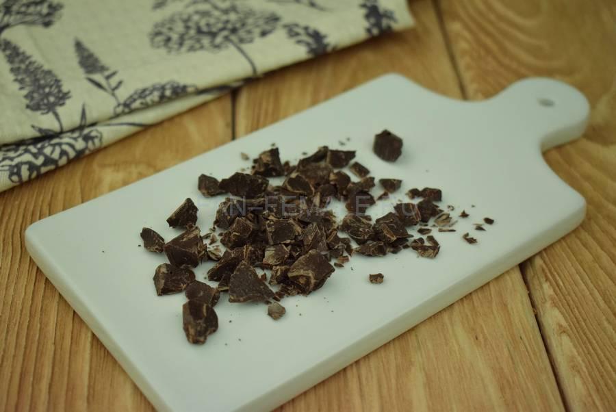 Приготовление песочного печенья с мятой и шоколадом, шаг 1