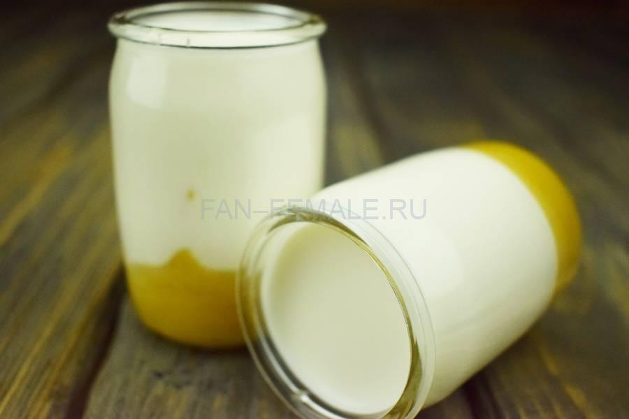 Домашний йогурт с манго