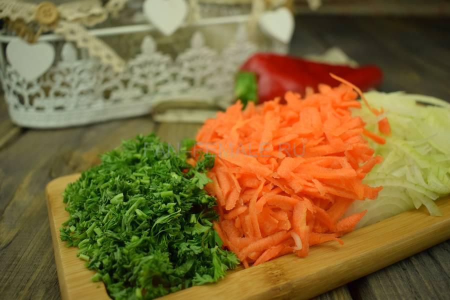 Приготовление тонкой вермишели с овощами и свининой, шаг 6